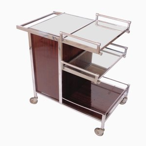 Bar Cart from Jacques Adnet, 1930s
