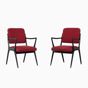 Vintage Model S5 Armchairs by Alfred Hendrickx for Belform, Set of 2