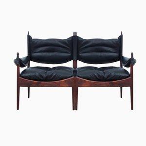 Canapé Mid-Century Moderne à Deux Places par Kristian Vedel pour Soren Willadsen, 1963