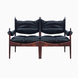Mid-Century Modern Danish Two-Seater Sofa by Kristian Vedel for Soren Willadsen, 1963