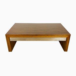 Table Basse Mid-Century à Rallonge en Palissandre