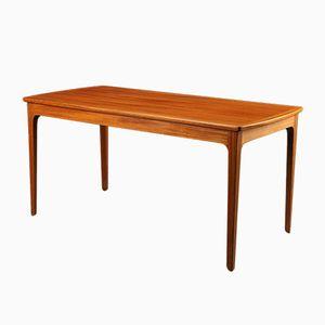 Table Basse en Acajou par Ole Wanscher pour A.J. Iversen, 1970s