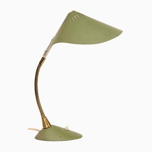 Green German Table Lamp from Cosack, 1950s