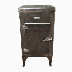 Boîte Réfrigérée Vintage en Métal de GEM