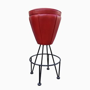 Wrought Iron Bar Stool, 1970s