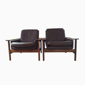 Armchairs by Sven Ivar Dysthe for Dokka Mobler, Set of 2