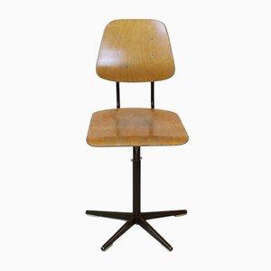 Schweizer Klassenzimmer Stuhl von Embru, 1960er