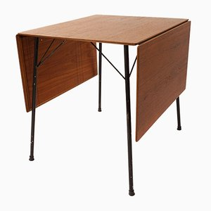 Tavolo modello 3601 pieghevole Mid-Century di Arne Jacobsen per Fritz Hansen