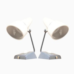 Dutch Infraphil Lamps by Charlotte Perriand for Philips, 1950s, Set of 2