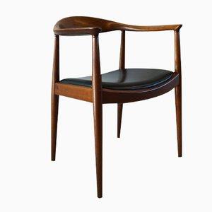 The Chair 503 di Hans J. Wegner per Johannes Hansen, anni '70