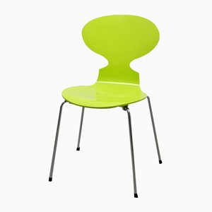 3101 Ant Chair in Vernal Green by Arne Jacobsen for Fritz Hansen, 1990s