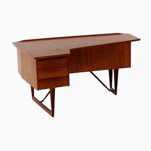 Vintage Teak Boomerang Desk by Peter Løvig Nielsen for Hedensted Møbelfabrik