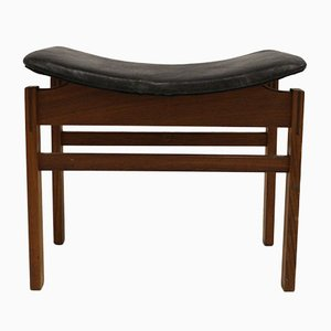 Mid-Century Danish Stool by Inger Klingenberg for France & Daverkosen