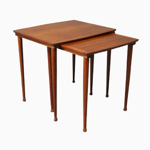 Teak Nesting Tables from Møbelintarsia, 1960s