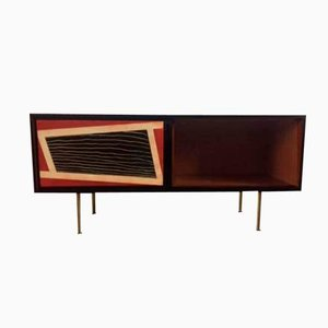 Mid-Century Italian Decorative Sideboard, 1955