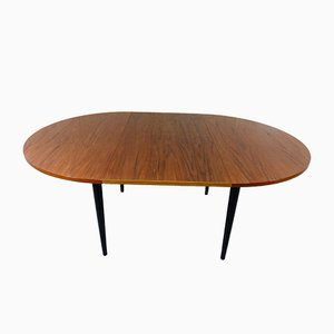 Danish Extendable Dining Table by Ilmari Tapiovaara for Asko, 1955