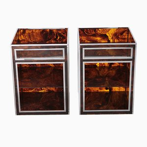Night Stands from Maison Mercier, 1970s, Set of 2