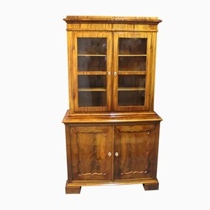 Large Mahogany & Glass Cabinet, 1830s