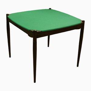 Mesa de comedor o de póquer vintage de Gio Ponti para Fratelli Reguitti