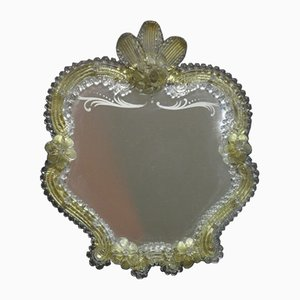 Murano Glass Standing Mirror, 1950s