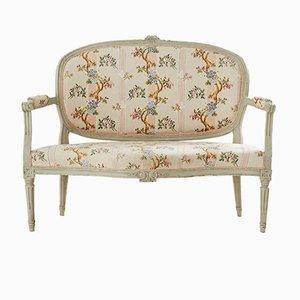 Antikes Schwedisches Louis XV Sofa, 1800er