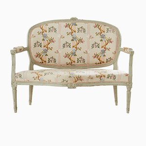 Antique Swedish Louis XV Bench, 1800s