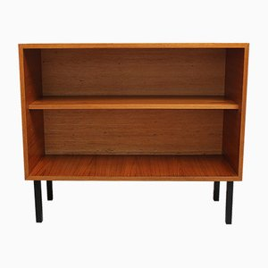 Teak Shelf with Seagrass, 1960s
