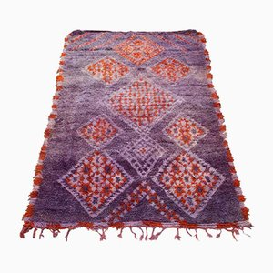 Vintage Moroccan Beni MGuild Carpet