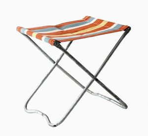 Folding Travel Chair, 1950s