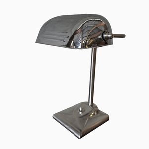 Vintage Chrome Table Lamp