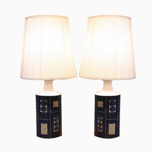 Lampes Vintage E 7169 par Inge-Lise Koefoed, Set de 2