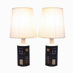 Vintage Danish E 7169 Lamps by Inge-Lise Koefoed, Set of 2