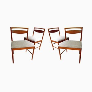 Mid-Century Teak Dining Chairs by Tom Robertson for A.H. McIntosh, 1970s, Set of 4