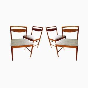 Mid-Century Teak Esszimmerstühle von Tom Robertson für A.H. McIntosh, 1970er, 4er Set