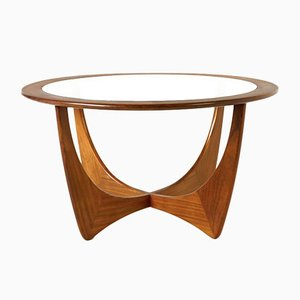 Table Basse Ronde Astro en Teck par Victor Wilkins pour G Plan, 1960s