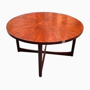 Round Teak Starburst Table from McIntosh, 1960s