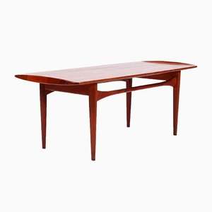 Tavolino da caffè in palissandro e teak di Tove & Edvard Kindt Larsen per France & Son, 1961