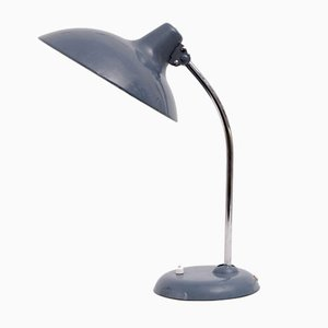 Dove Blue Lamp by Christian Dell for Kaiser Lampen, 1960s