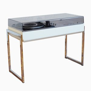 White 3202 Hifi Turntable Record Player from Wega