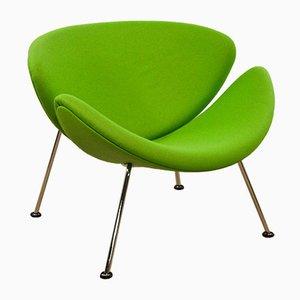 Orange Slice F 437 Stuhl von Pierre Paulin für Artifort
