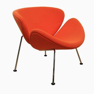Orange Slice F437 Lounge Chair by Pierre Paulin for Artifort, 1970s