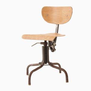 Französischer Architekten Vintage Stuhl