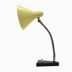 Lámpara de escritorio Mid-Century de metal de Busquet para Hala Zeist, años 50