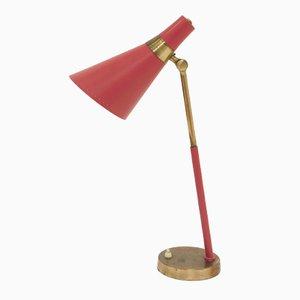 Lámpara de mesa Mid-Century de Jonas Hidle para Høvik Verk, años 50