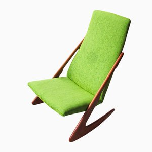 Vintage Boomerang Rocking Chair from Mogens Kold