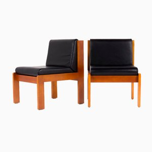French Lounge Chairs by André Sornay for Sornay Company, 1950s, Set of 2