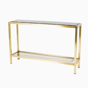 Vintage Marble Console Table, 1950s