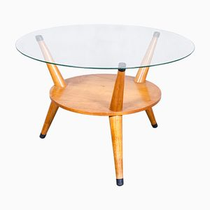 Table Basse Mid-Century par Cees Braakman pour Pastoe, Pays-Bas, 1950s