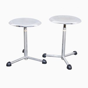 Medical Stools from Maquet, 1950s, Set of 2