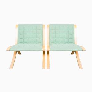 Ax Stühle von Orla Molgaard & Peter Hvidt für Fritz Hansen, 1970er, 2er Set